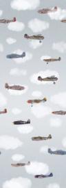 Behang Expresse Kate & Andy INK7446 vliegtuigen en wolken