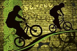 @Walls fotobehang fietscross 0328