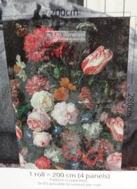 Colorful Florals & Retro INK7317 Backalley Tulips