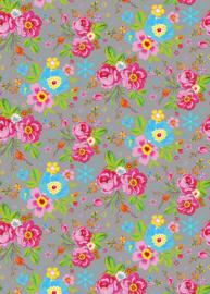 Behang Expresse Happy Living Wallprint Rosita Grey TD4030