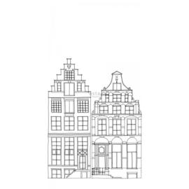 PhotowallXL Amsterdam houses 158834 huisjes in Amsterdam