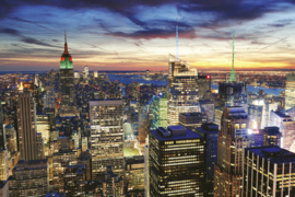 @Walls fotobehang New York wolkenkrabbers 0014