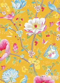 Eijffinger  Pip Studio III behang 341006 Chinese Garden Yellow