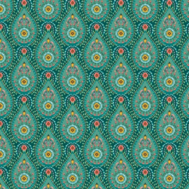Eijffinger Pip Studio 5 behang 300152 Raindrops groen