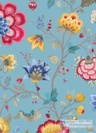 Eijffinger Pip Studio III behang 341035 Floral Fantasy Light Blue