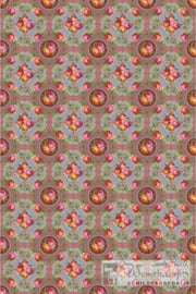 Eijffinger Pip Studio II wallpower 313113 Singing Roses khaki