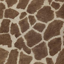 Behang dierenprint giraffe Zarafa 03-buff