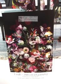 Colorful Florals & Retro INK7319 Flower Explosion Dark
