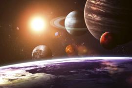 @Walls fotobehang Solar system 0188