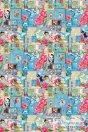 Eijffinger Pip Studio II wallpaper 313111 Pip Art Blue