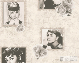AS Creation 95890-2 Audrey Hepburn behang