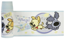 Woezel & Pip sporty 41045 behangrand