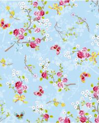 Eijffinger Pip Studio IIII behang 375071 Chinese Rose Light Blue