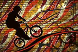@Walls fotobehang fietscross 0327