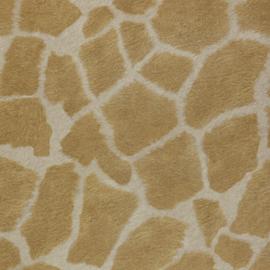 Behang dierenprint giraffe Zarafa 07-karat
