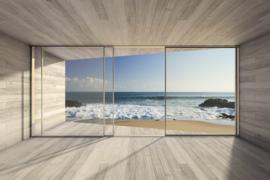 @Walls fotobehang Doorkijk naar zee 0042