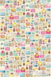 Eijffinger Pip Studio II wallpaper 313107 Youve Got Mail Linen