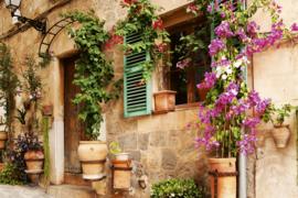 @Walls fotobehang Straat tuin 0046