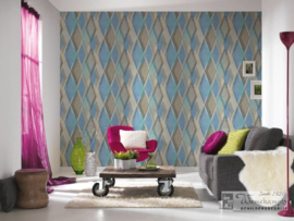 AS Creation 35591-2 Pop Colors behang