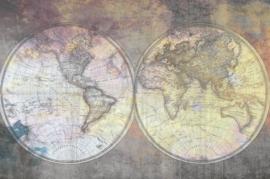 @Walls fotobehang wereldkaart 0369