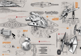 Star Wars Blueprints 8-493 Komar