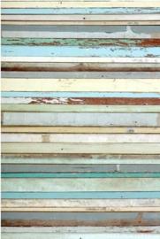PhotowallXL old wood 158004 oud hout motief