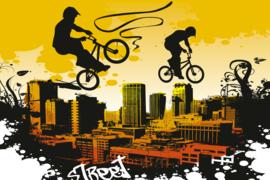 @Walls fotobehang fietscross 0326