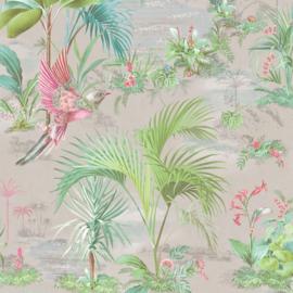 Eijffinger Pip Studio 5 behang 300142 Palm Scene grijs