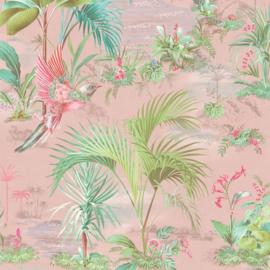 Eijffinger Pip Studio 5 behang 300141 Palm Scene 300141 roze