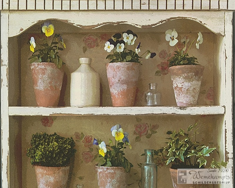 AS Creation 8550-39 Around the world bloemen behang