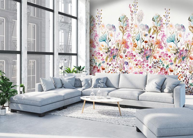 Colorful Florals & Retro INK7280 Floralfields