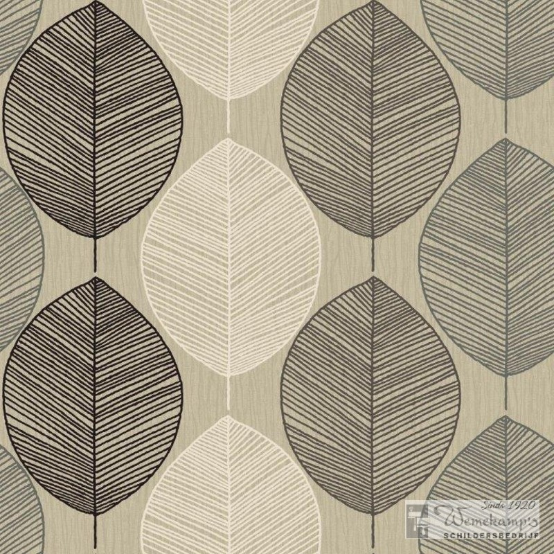 Arthouse Options Retro Leaf 408206 behang