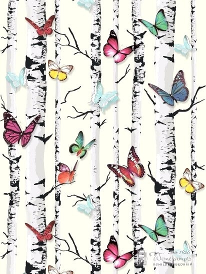 Love your Walls E74310  vlinder behang