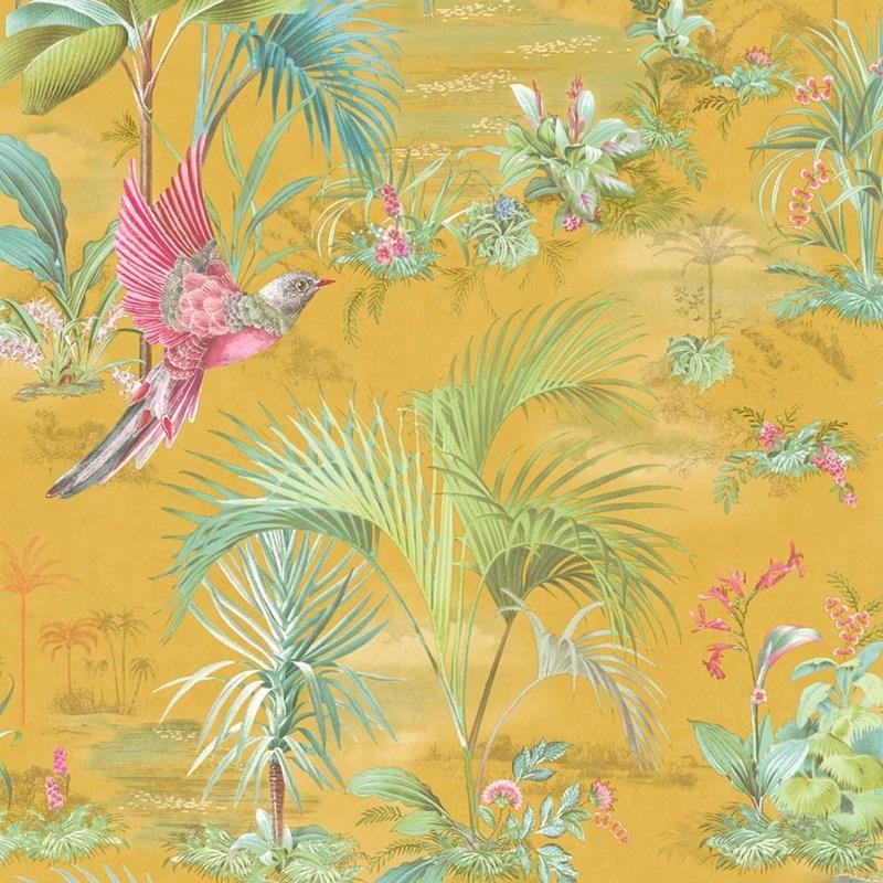 Eijffinger Pip Studio 5 behang 300143 Palm Scene geel