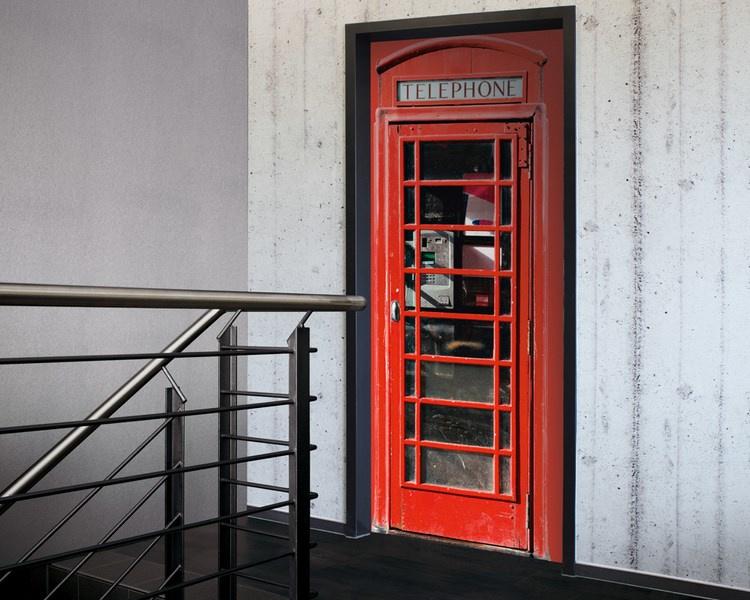 Telephone 20-019 deursticker