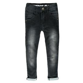 broek: Anthracite denim