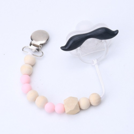 tutketting hout: Light pink