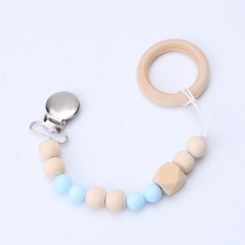 tutketting hout: Light blue