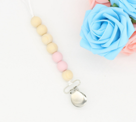 tutketting hout: Simply pink