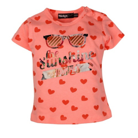 T-shirt: Sunshine peach