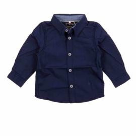 hemd: Nitsolid blue