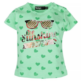 T-shirt: Sunshine mint