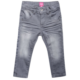 broek: Denim grey