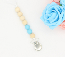 tutketting hout: Simply blue