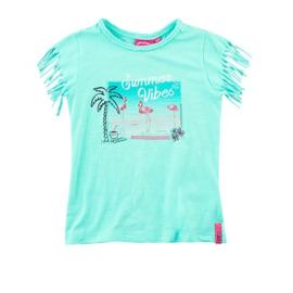 T-shirt: Summer vibe aqua