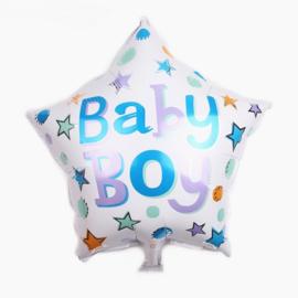 ballon: Ster baby boy
