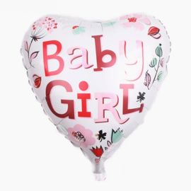 ballon: Hart baby girl
