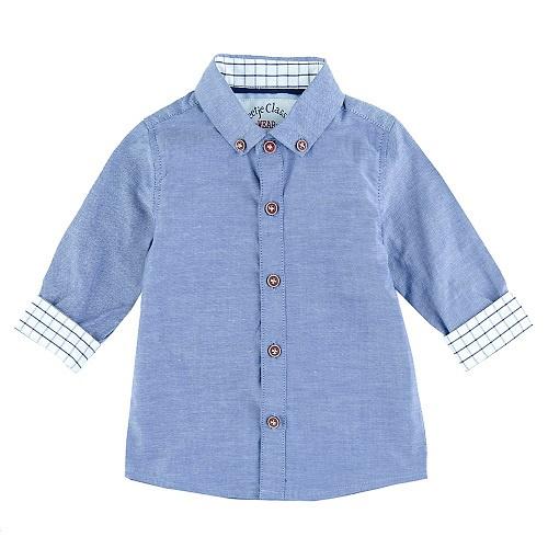 hemd: Classic blue