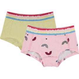 Vingino Hipster 2 pack Rainbow Baby Pink