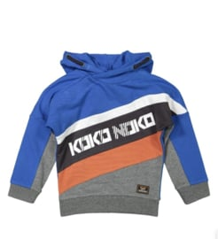 Koko Noko hoodie print kobalt